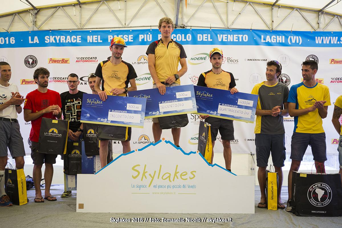 Podio maschile - Skylakes 2016